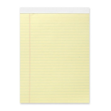 Business Source Ruled Glue-Top Writing Pads Pad, Micro-Perforated