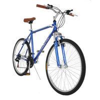 Vilano C1 Mens Comfort Hybrid Road Bike 700c 21 Speeds Black 18