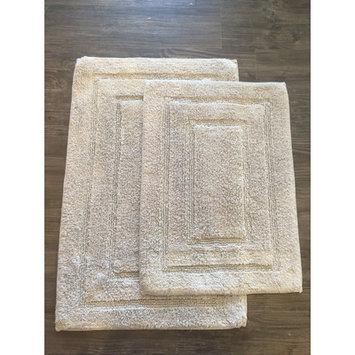 Am Home Textiles Race Track 2 Piece Bath Mat Set, Grey