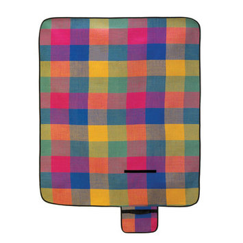 Home Locomotion 10015110 Modern Plaid Folding Picnic Mat