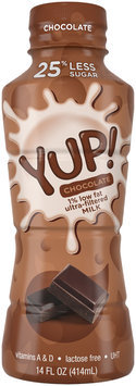 YUP!® Chocolate 1% Milk 14 fl. oz. Bottle