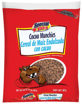 Special Value Cocoa Munchies Cereal 32 oz. Bag