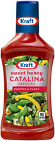 Kraft Sweet Honey Catalina Dressing 16 fl. oz. Bottle