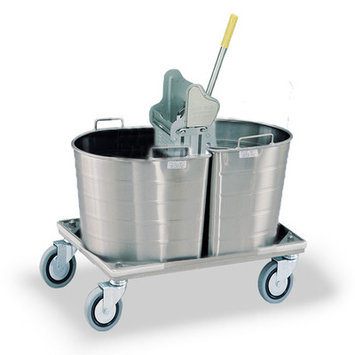 Royce Rolls Tapered Double Tank Mopping Unit Tank Capacity: 4 gal