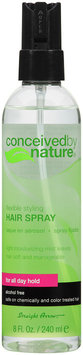 Conceived by Nature® Flexible Styling Hair Spray 8 fl. oz. Spray Bottle