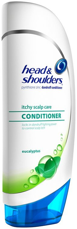 Itchy Head and Shoulders Itchy Scalp Care with Eucalyptus Dandruff Conditioner 400mL