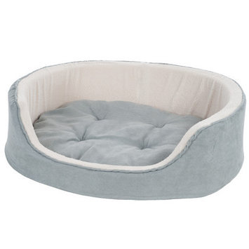 Paw Suede Cuddle Round Pet Bed Size: Small (23
