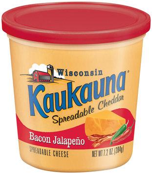 Kaukauna® Bacon Jalapeno Spreadable Cheddar 7.2 oz. Tub