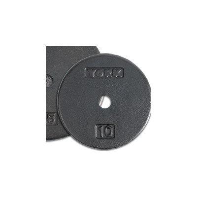 York Barbell Contour Cast Iron Plate Weight: 10 lbs