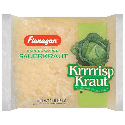 Flanagan Krrrrisp Kraut Sauerkraut 16 Oz Poly Bag