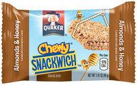 Quaker Life® Snackwich™ Almonds & Honey Snack Bar