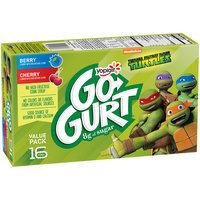 Yoplait® Go-Gurt® Teenage Mutant Ninja Turtles™ Berry/Cherry Portable Low Fat Yogurt Variety Pack 16-2 oz. Tubes