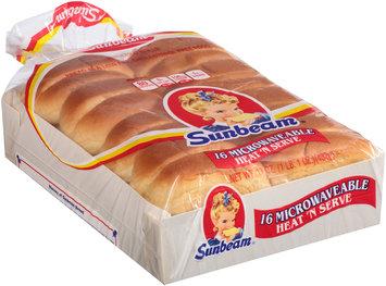 Sunbeam® Microwaveable Heat 'n Serve Enriched Rolls 16 ct Bag
