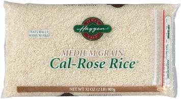 Haggen Medium Grain Cal-Rose Rice 32 Oz Zip Pak