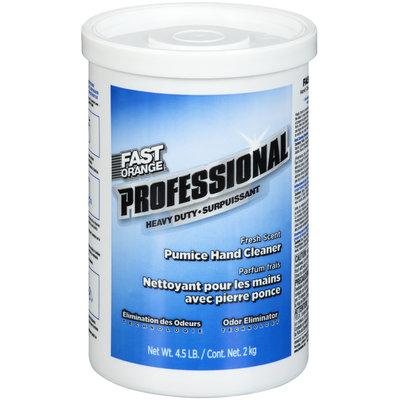 Permatex® Fast Orange® Professional Heavy Duty Fresh Scent Pumice Hand Cleaner 4.5 lb. Tub