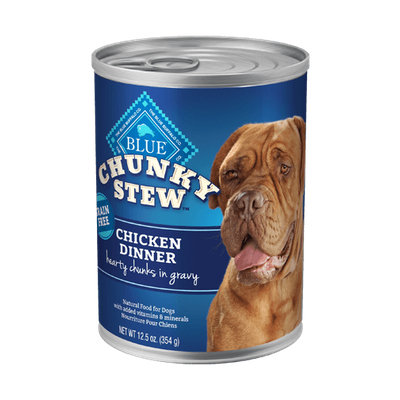 THE BLUE BUFFALO CO. BLUE™ Chunky Stew™ Chicken Dinner For Adult Dogs