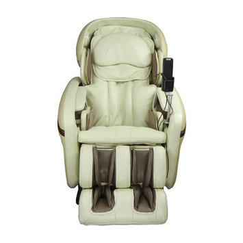 Osaki Heated Massage Chair Color: Cream