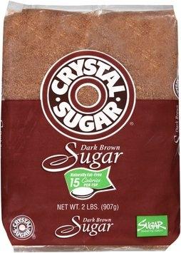 Crystal Sugar® Dark Brown Sugar 2 lb. Bag