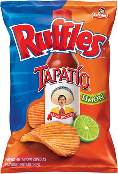 Ruffles® Tapatío® Limon Flavored Potato Chips