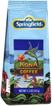 Springfield® Kona High Mountain Blend Coffee 1.5 oz