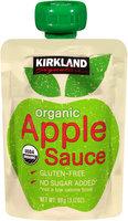 Kirkland Signature™ Organic Apple Sauce 3.17 oz. Pouch