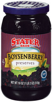 Stater Bros. Boysenberry Preserves 18 Oz Jar