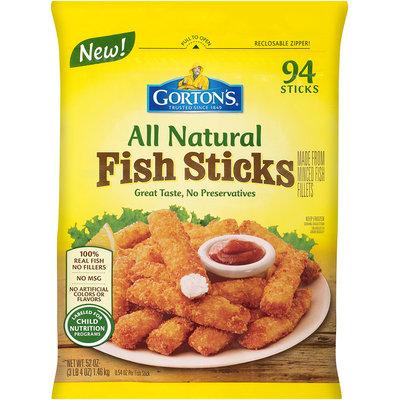 Gorton's® All Natural Fish Sticks 52 oz. Bag