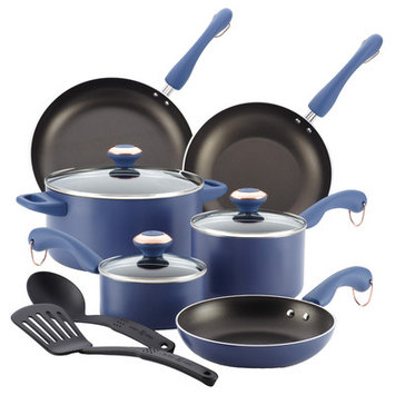 Paula Deen Signature AAP Blueberry 11-piece Cookware Set