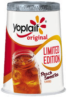 Yoplait® Original Peach Sweet Tea Low Fat Yogurt
