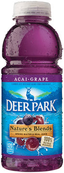 Deer Park Nature's Blend Spring Water & Real Juice Acai-Grape