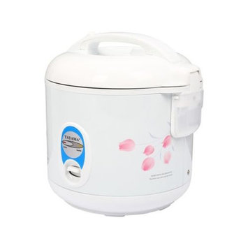 Tayama TRC-08 Cool Touch 8-Cup Rice Cooker White