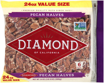 Diamond® of California Pecan Halves 24 oz. Bag
