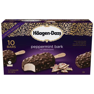 Häagen-Dazs Peppermint Bark Ice Cream Bars 10-3 fl. oz. Bars