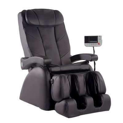 Omega Massage ME-1 Montage Elite Reclining Heated Massage Chair, Ivory
