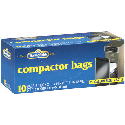 Springfield® Compactor Bags