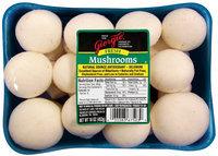 Giorgio Fresh Mushrooms 16 Oz Tray