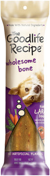 Archived The Goodlife Recipe Archived Wholesome Bone For Large Dogs Dog Care & Treats 5.82 Oz Peg