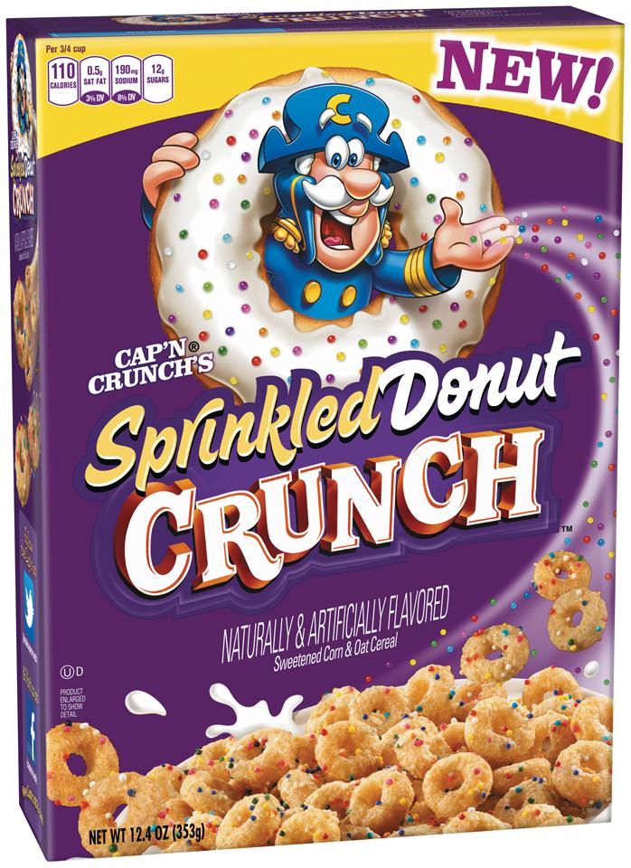 Cap'n Crunch® Sprinkled Donut Crunch™ Cereal