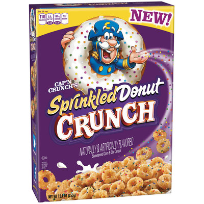 Cap'n Crunch® Sprinkled Donut Crunch™ Cereal