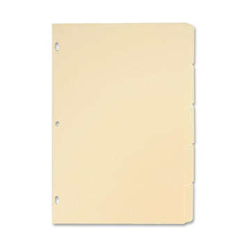 Sparco SPR01823 Manila Ring Book Indexes Pack of 5