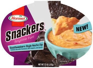 Hormel™ Snackers® Southwestern Style Nacho Dip 7.5 oz. Tray