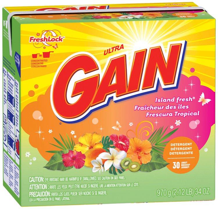 Gain® Ultra Island Fresh with FreshLock Powder Laundry Detergent 34 oz. Box