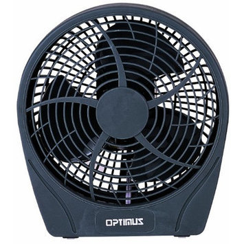 Optimus F0622 Grey 6Inch Fan Personal Stylish 2Speed Energy