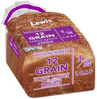 Lewis® 12 Grain Special Recipe Bread 12 oz. Pack