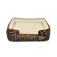 PLAY Kalahari Brown Lounge Dog Bed Small