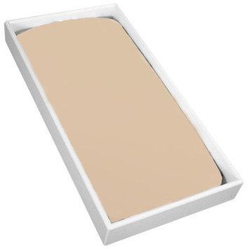 Kushies Baby Change Pad Sheet with Slits for Safety Straps, Mocha