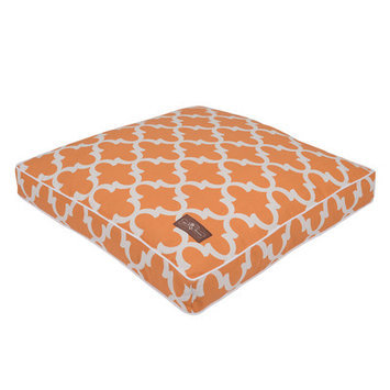 Jax And Bones Creamsicle Everyday Cotton Pillow Dog Bed Size: 36
