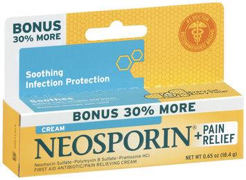 Neosporin® Neosporin Plus Pain Relief Antibiotic Cream 30% Bonus Bonus .65 Oz Peg