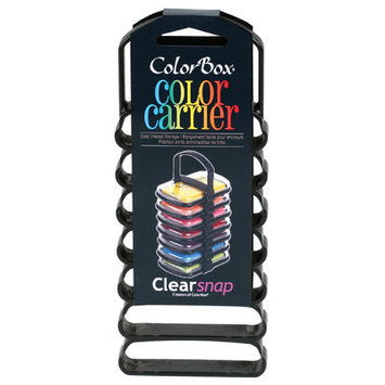 Clearsnap Black Color 7-pad Carrier