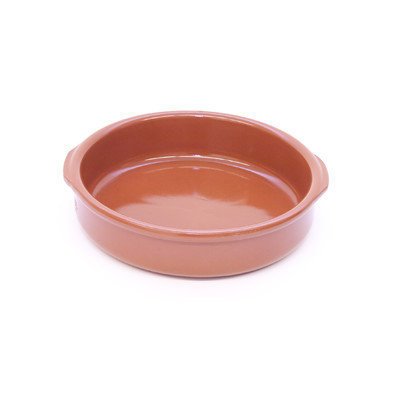 Regas Ceramics Regas Classic Terra Cotta Honey Casserole with Handles